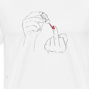 Fuck you! - Men's Premium T-Shirt