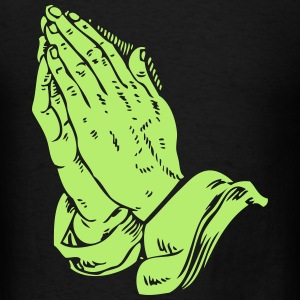 Praying Hands #2 - Men's T-Shirt