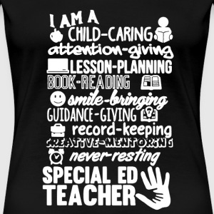 Special Ed Teacher Shirt - Women's Premium T-Shirt