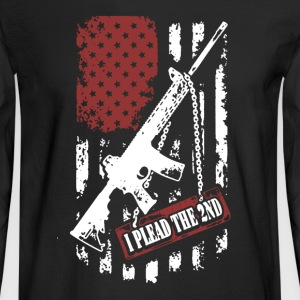 2nd Amendment Shirt - Men's Long Sleeve T-Shirt