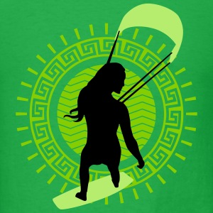 kite_surfing_woman_062016c_3c T-Shirts - Men's T-Shirt