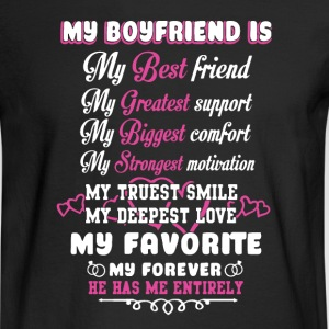 Boyfriend Shirt - Men's Long Sleeve T-Shirt