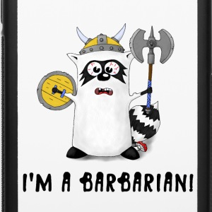 Raccoon: I'm a Barbarian! Phone & Tablet Cases - iPhone 6/6s Rubber Case