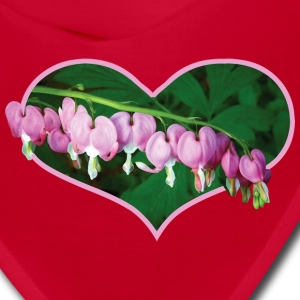 Bleeding Hearts in Heart Caps - Bandana