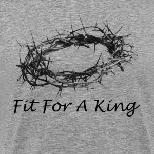Fit For A King Salvation Crown Passover T-Shirts - Men's Premium T-Shirt