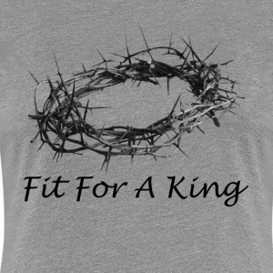 Fit For A King Salvation Crown Passover Women's T-Shirts - Women's Premium T-Shirt
