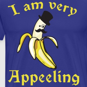 I Am Very Appeeling (Appealing Banana) T-Shirts - Men's Premium T-Shirt