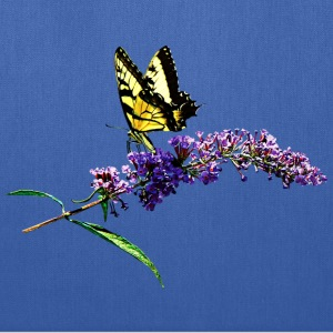 Swallowtail on Butterfly Bush Bags & backpacks - Tote Bag