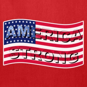 AMERICA STRONG WAVE I LT - Tote Bag