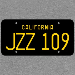 Retro 1963 California JZZ 109 License Plate Women' - Women's Premium T-Shirt