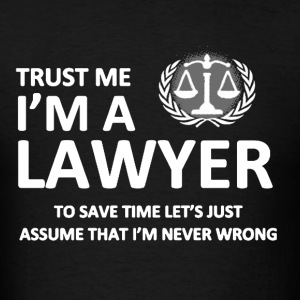 Lawyer Shirt - Men's T-Shirt