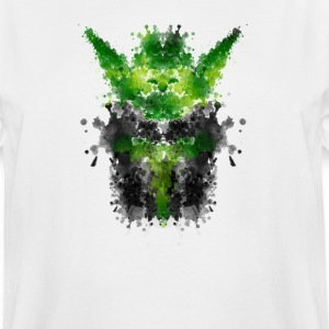 Rorschach Yoda - Watercolor Rorschach T-Shirts - Men's Tall T-Shirt