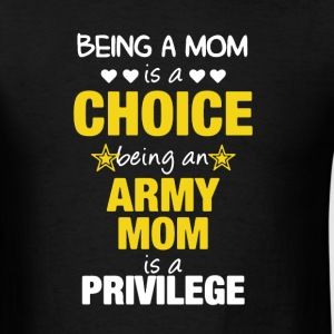 Proud Army Mom Shirt - Men's T-Shirt