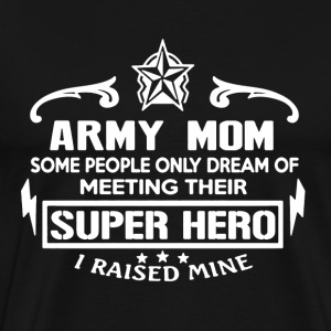 Army Mom Shirt - Men's Premium T-Shirt