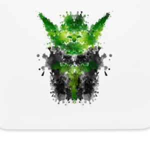 Rorschach Yoda - Watercolor Rorschach Other - Mouse pad Horizontal