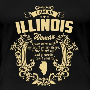 Illinois Woman - Women's Premium T-Shirt