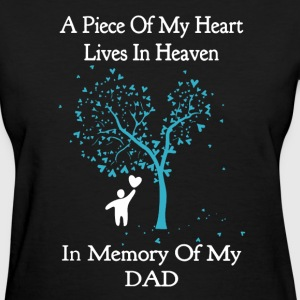 Memory Of Dad Shirt - Women's T-Shirt
