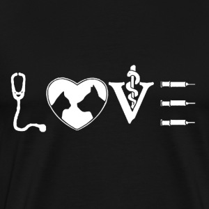 Love Vet Tech Shirt - Men's Premium T-Shirt