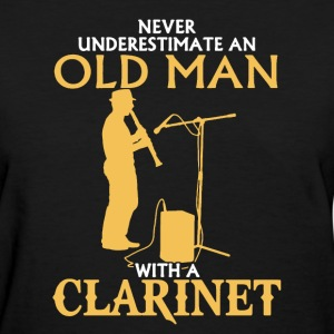 Old Man With A Clarinet - Women's T-Shirt