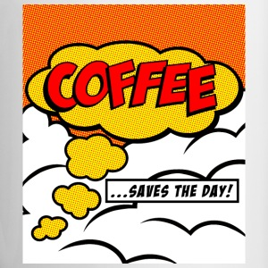 Coffee saves the day Mugs & Drinkware - Contrast Coffee Mug