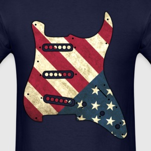 USA Guitar Pickguard - Men's T-Shirt