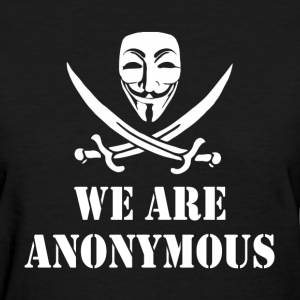 We Are Anonymous T-Shirts - Women's T-Shirt