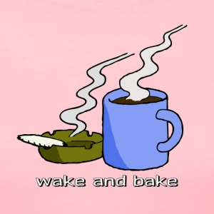wake and bake T-Shirts - Women's Premium T-Shirt