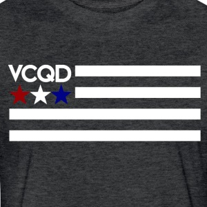 Merica - Fitted Cotton/Poly T-Shirt by Next Level