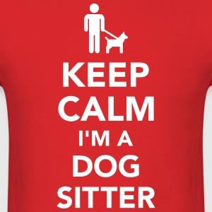 Dog sitter T-Shirts - Men's T-Shirt