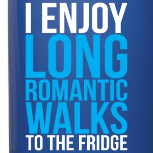 I Enjoy Long Romantic Walks To The Fridge Mugs & Drinkware - Full Color Mug