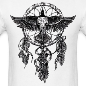 AD Skull Crow Dreamcatcher T-Shirts - Men's T-Shirt