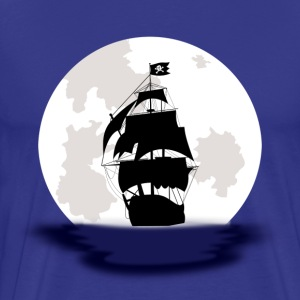 Pirate Ship - Men's - Men's Premium T-Shirt