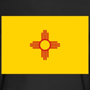Flag New Mexico Long Sleeve Shirts - Men's Long Sleeve T-Shirt