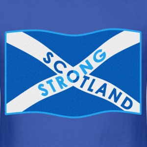 SCOTLAND STRONG BI-COLOUR - Men's T-Shirt