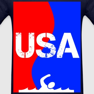 USA SWIMMING T-Shirts - Men's T-Shirt