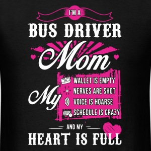 Bus Driver Moms Shirt - Men's T-Shirt