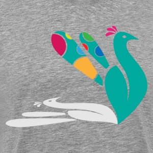 Cute peacock T-Shirts - Men's Premium T-Shirt