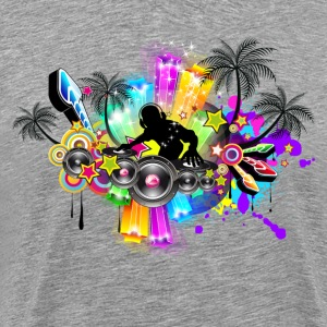 Multicolor of disco party T-Shirts - Men's Premium T-Shirt