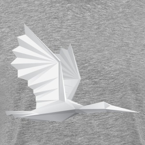 Bird paper art origami T-Shirts - Men's Premium T-Shirt