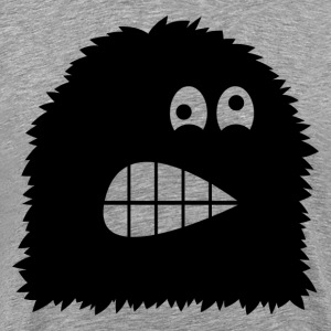 Cartoon monster silhouett T-Shirts - Men's Premium T-Shirt