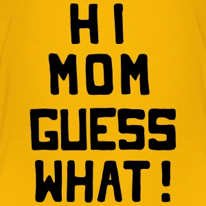 Surprise for Mommy: Coming-out Kids' Shirts - Kids' Premium T-Shirt