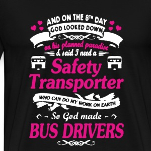 Bus Drivers Shirt - Men's Premium T-Shirt