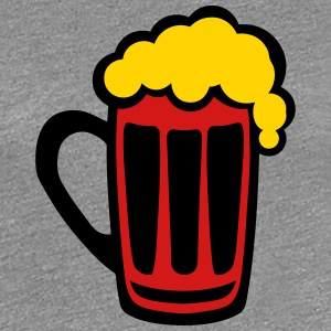 6115 alcohol beer foam drawing 2 T-Shirts - Women's Premium T-Shirt