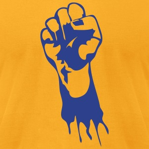 fist T-Shirts - Men's T-Shirt by American Apparel