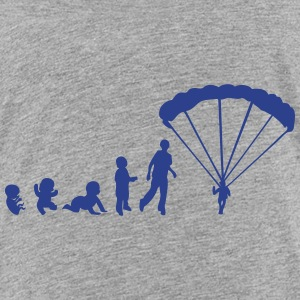 paragliding sports man evolution Kids' Shirts - Kids' Premium T-Shirt