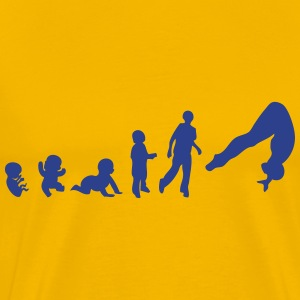 evolution human sports diving T-Shirts - Men's Premium T-Shirt