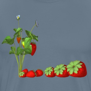 strawberries - Men's Premium T-Shirt
