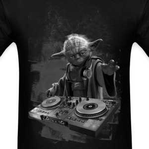 YODA DJ PARTY - Men's T-Shirt