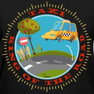 american_taxi_driver_king_of_the_road_07 T-Shirts - Women's T-Shirt
