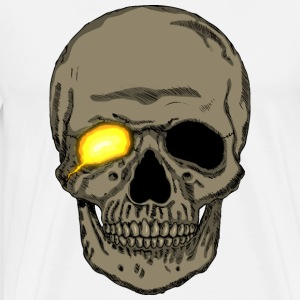 Anime/cartoon/comic-book style skull T-Shirt - Men's Premium T-Shirt